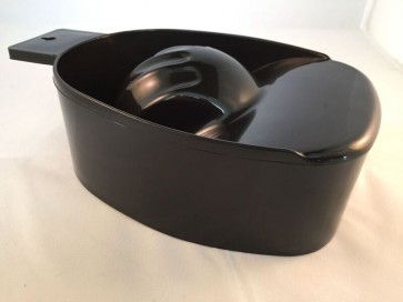 Deep Manicure Bowl Black